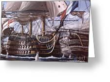 Battle Of Trafalgar Greeting Card