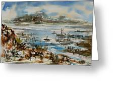 Bay Scene Greeting Card