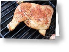 Bbq Chicken Greeting Card