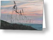 Beach Morning View Greeting Card