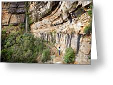 Blue Mountains Australia Greeting Card