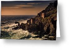 Botallack Tin Mine Greeting Card