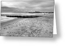 Bournemouth Beach Greeting Card
