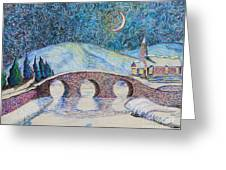 Bridge To Eternity Greeting Card
