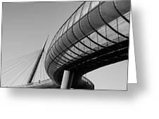 Bridges In The Sky Greeting Card