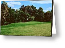 Brookhill Golf Course Greeting Card