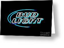 Bud Light Greeting Card