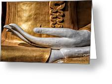 Buddha Hand Greeting Card