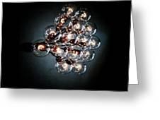 Bulbs Of Light Greeting Card