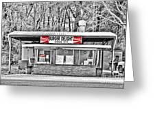 Burger Delight Greeting Card by Scott Pellegrin