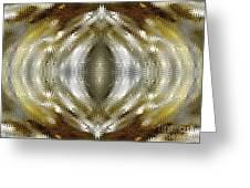 Cafe Au Lait Kaleidoscope Greeting Card