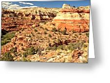 Calf Creek Falls Canyon Greeting Card