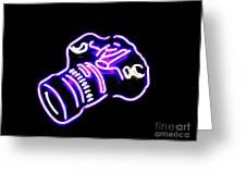 Camera Edited Greeting Card