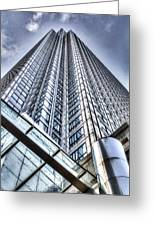 Canary Wharf Tower Greeting Card