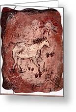 Cave Art Greeting Card