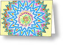Colorful Signature Art Chakra Round Mandala By Navinjoshi At Fineartamerica.com Rare Fineart Images  Greeting Card