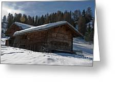 Chalet's Mountain Greeting Card