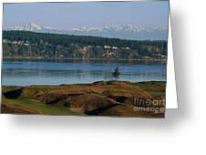Chambers Bay Golf Course - University Place - Washington Greeting Card