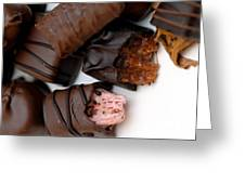 Chocolate Candies Greeting Card