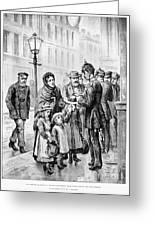 Cholera: Hamburg, 1892 Greeting Card