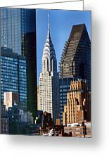 Chrysler Building Greeting Card