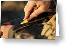 Chukar Hunting In Nevada Greeting Card