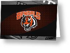 Cincinnati Bengals Greeting Card by Joe Hamilton