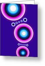 Circle Motif 125 Greeting Card