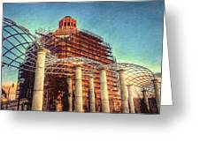 City Hall Greeting Card by Mark Block