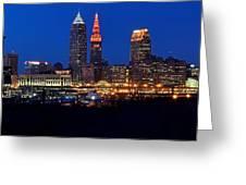 Cleveland Panorama Greeting Card