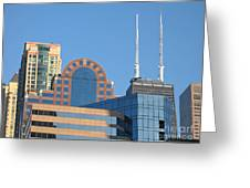 Colorful Chicago Greeting Card