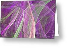 Colorful Figures Greeting Card