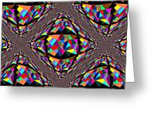 Colors In Chaos Greeting Card