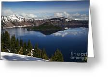 Crater Lake - Oregon Greeting Card