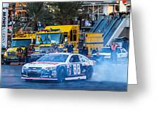Dale Earnhardt Jr Greeting Card