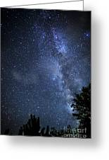 Dark Rift Of The Milky Way Greeting Card