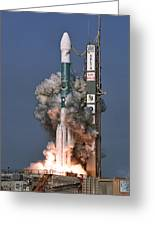 Delta II Rocket Launch Greeting Card