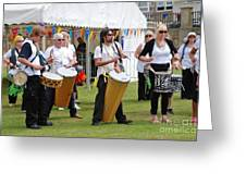 Dende Nation Samba Drum Troupe Greeting Card