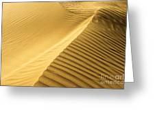Desert Sand Dune Greeting Card