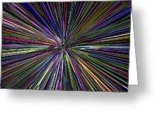 Digital Abstract Greeting Card