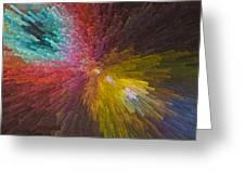 3 Dimensional Art Greeting Card
