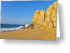 Divorce Beach, Cabo San Lucas, Baja Greeting Card