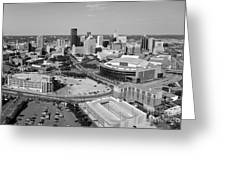 Downtown Skyline Of St. Paul Minnesota Greeting Card