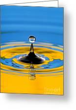 Drop Of Water Greeting Card