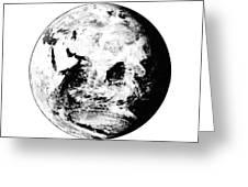 Earth Globe Greeting Card