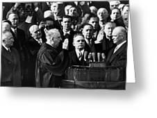 Eisenhower Inauguration Greeting Card