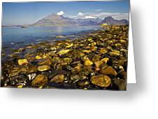 Elgol Greeting Card
