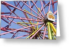Evergreen State Fair Ferris Wheel Greeting Card