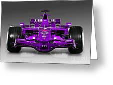 Ferrari Formula 1 Greeting Card