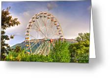 Ferris Wheel Greeting Card